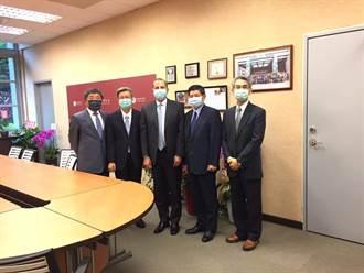 阿札爾來訪 陳建仁:美台公衛合作是近40年的夥伴