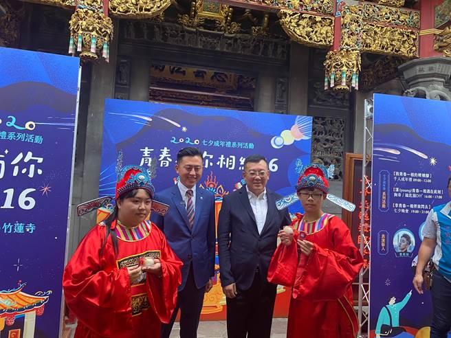 北台灣唯一的「做16歲」成年禮活動,將於25日在新竹市竹蓮寺登場。(陳育賢攝)