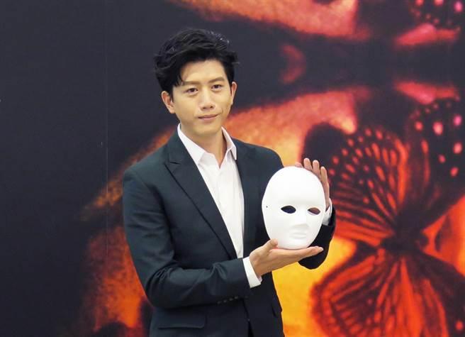 莫子儀出席「2020臺北文學.閱影展」記者會。(光點台北提供)