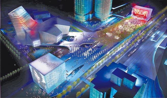 北流中心由普林斯頓大學建築教授傑西‧萊瑟領軍的RUR團隊設計,酷炫造型及融合城市景觀的設計,別具流行感。(RUR團隊提供)