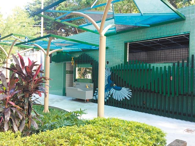 板橋區公所連續3年獲得「新北市公廁金質獎」,圖為板橋環河公園公廁。(板橋區公所提供/王揚傑新北傳真)