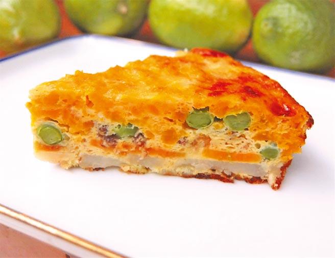 西班牙烘蛋變奏版,熱吃冷吃皆宜。