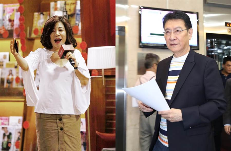 陳文茜和趙少康被封為「政論CP」。(圖/本報系資料照)