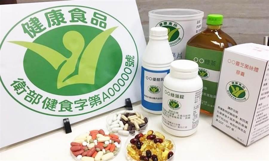 衛福部食藥署近日公告,除了取得「小綠人」健康食品標章的食品外,其他一般食品品名都不得使用「健康」二字。(圖/康健雜誌提供)
