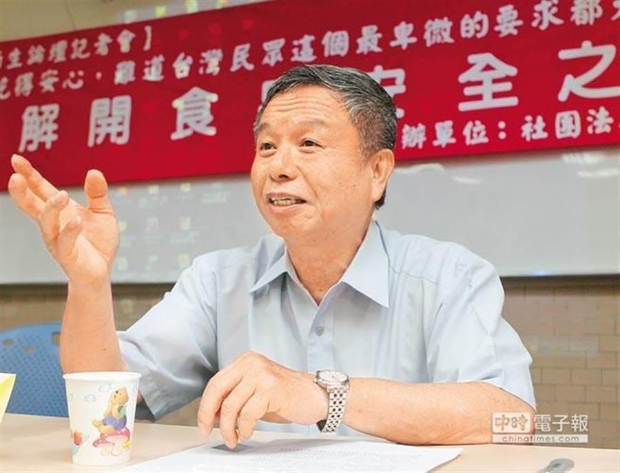 前衛生署長楊志良。(中時資料照)