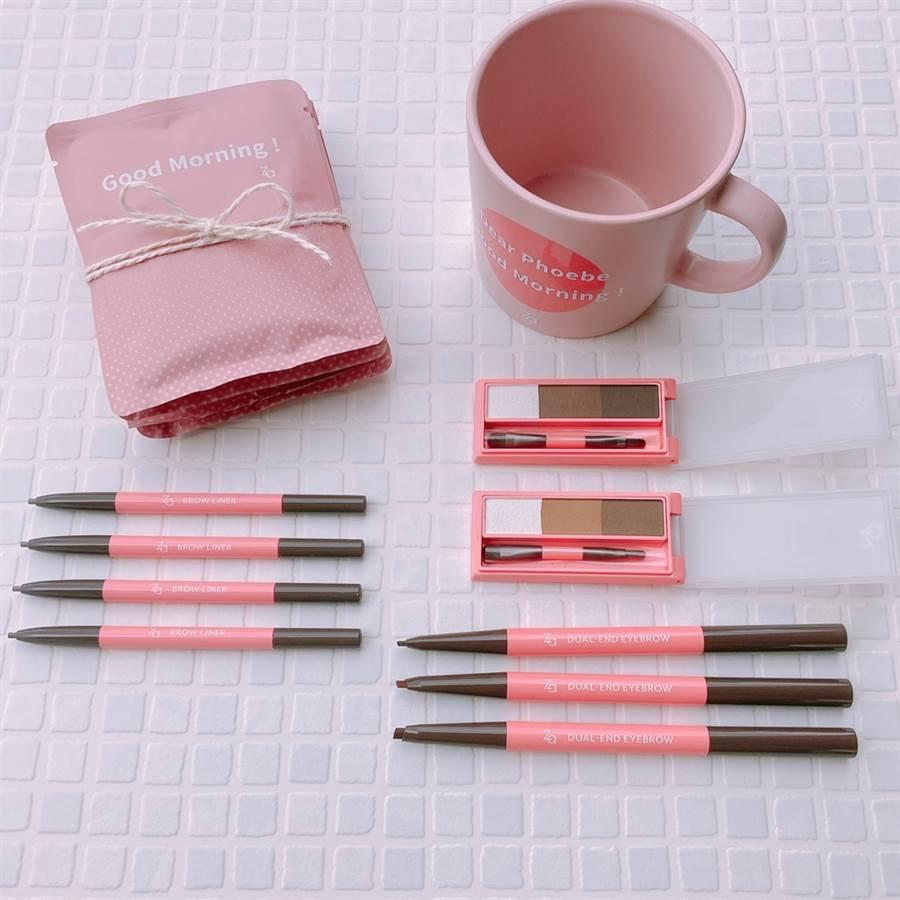 新包裝採用Za全新品牌色的裸粉色系。(圖/邱映慈攝影)