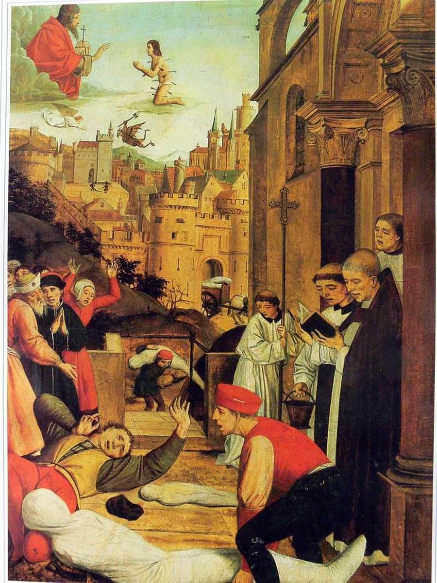 歐洲東南部的拜占庭帝國爆發「查士丁尼瘟疫」。(圖/維基百科)