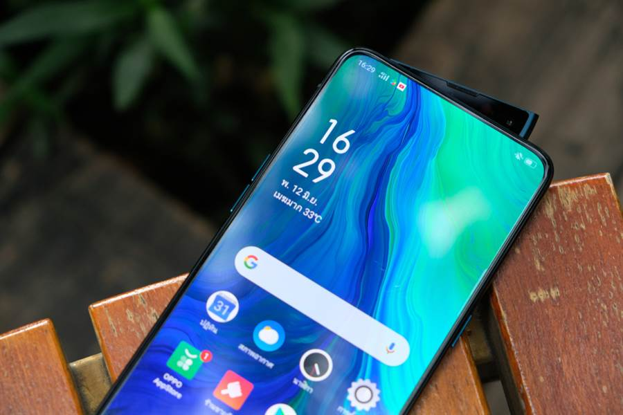 台灣越來越常見到便宜的大陸品牌手機。(示意圖,達志)