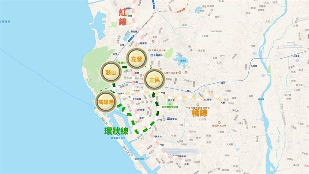 高雄公共運輸-環狀線輕軌