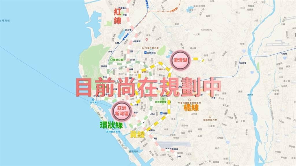 高雄公共運輸-捷運黃線