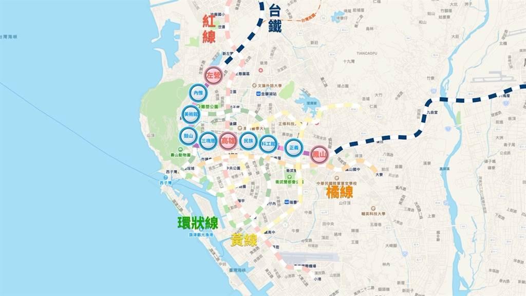 高雄公共運輸-台鐵地下化