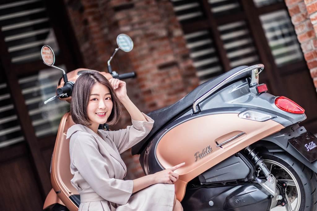 三陽SYM七期Fiddle 125 ABS美感性能兼具 引領時尚展現品味