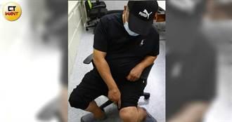千億殺機3/領黑道入門反被斷腳筋 包商崩潰自戳小腿「全沒感覺了」
