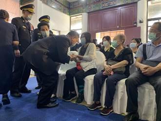 殉職警員楊庭豪告別式 百警送行莊嚴哀淒