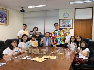 傳統文化融入創意新民高中奪國際雙獎