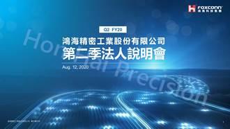 《業績-其他電子》鴻海Q2獲利彈升近10倍 登近5年同期高