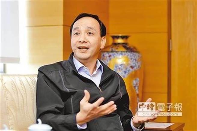 國民黨前主席朱立倫。(圖/本報資料照)