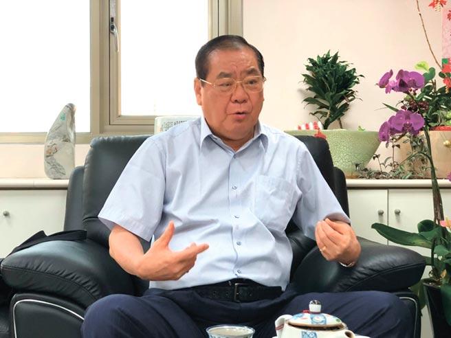 世盟中華民國總會理事長曾永權(圖/世盟提供)