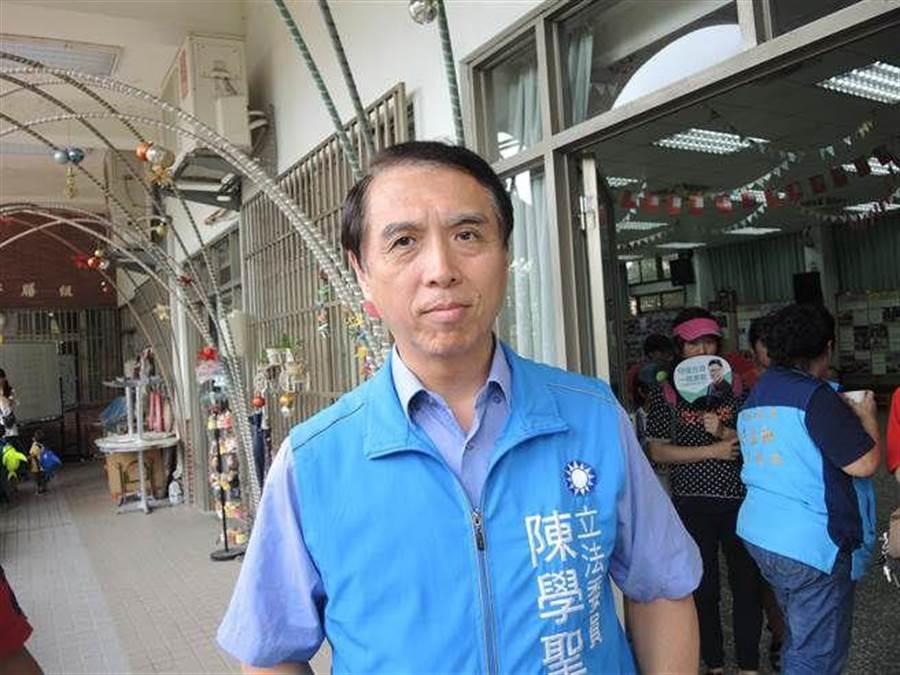 國民黨前立委陳學聖。(中時資料照)