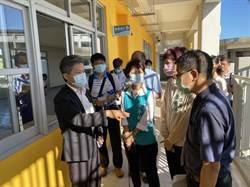 台南隊向中央爭取經費 國教署會勘南市學校