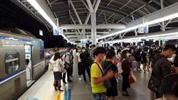 台鐵台中車站號誌故障11班次延誤  旅客抱怨連連