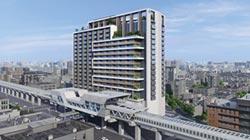 冠德建設取得環狀線秀朗橋站聯開案