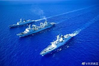 解放軍證實:在台灣海峽、南北兩端舉行大演習