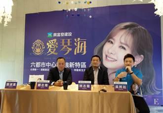 找安心亞代言 台南最高海景宅3週狂賣250戶