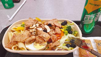 餐廳剩菜仍多 美食街普遍光盤