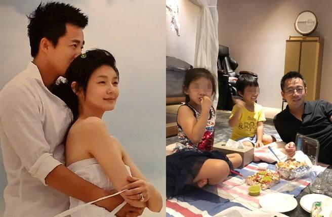 汪小菲和大S育有一子一女。(图/翻摄自新浪娱乐、汪小菲微博)