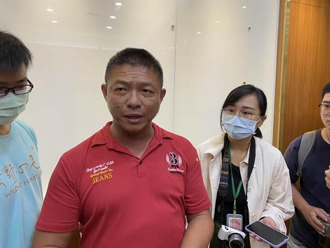 雲林縣近沿海作業漁船協進會理事長李平順。(李柏澔攝)