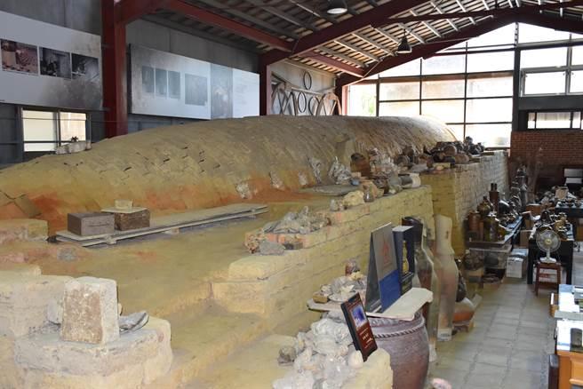 竹南蛇窯被苗栗縣政府畫定為歷史建築。(謝明俊攝)