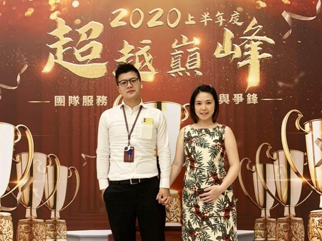 郭俊輝的太太即將在十一月臨盆,讓郭俊輝成為「五子登科」的人生勝利組。