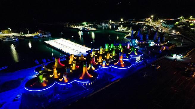 富基漁市是著名的海鮮聖地。(新北市漁業處提供/許哲瑗新北傳真)