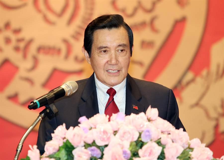 前總統馬英九。 (資料照片)