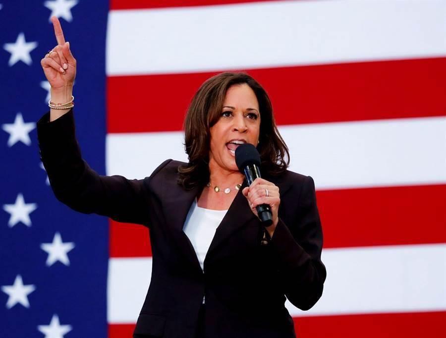 美國民主黨總統候選人拜登挑選加州聯邦參議員賀錦麗(Kamala Harris)為副手。(資料照/路透社)