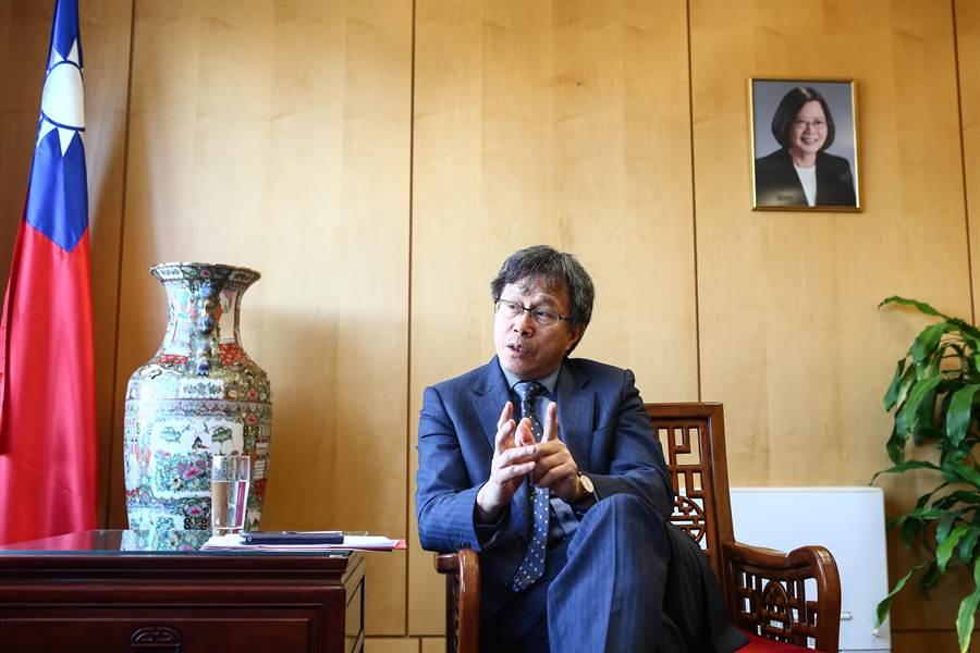我駐德國大使謝志偉。(資料照,鄧博仁攝)