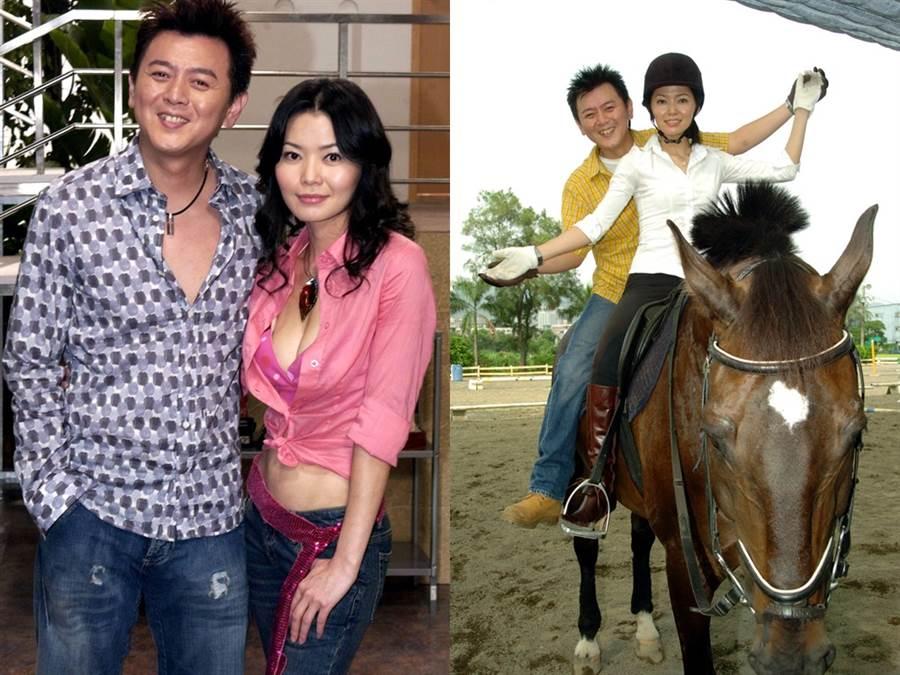 向麗雯和庹宗康愛情長跑8年分手,現在兩人各自有幸福的家庭。(圖/中時資料照)