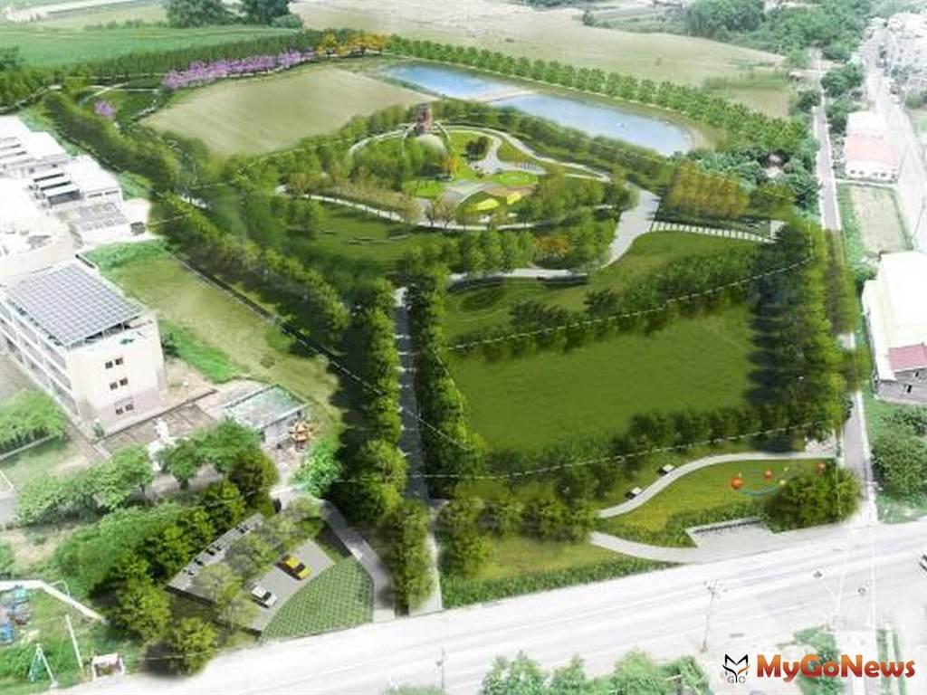 台南市府爭取前瞻計畫 串接鹽水生活圈打造溪北第一座特色公園(圖:台南市政府)