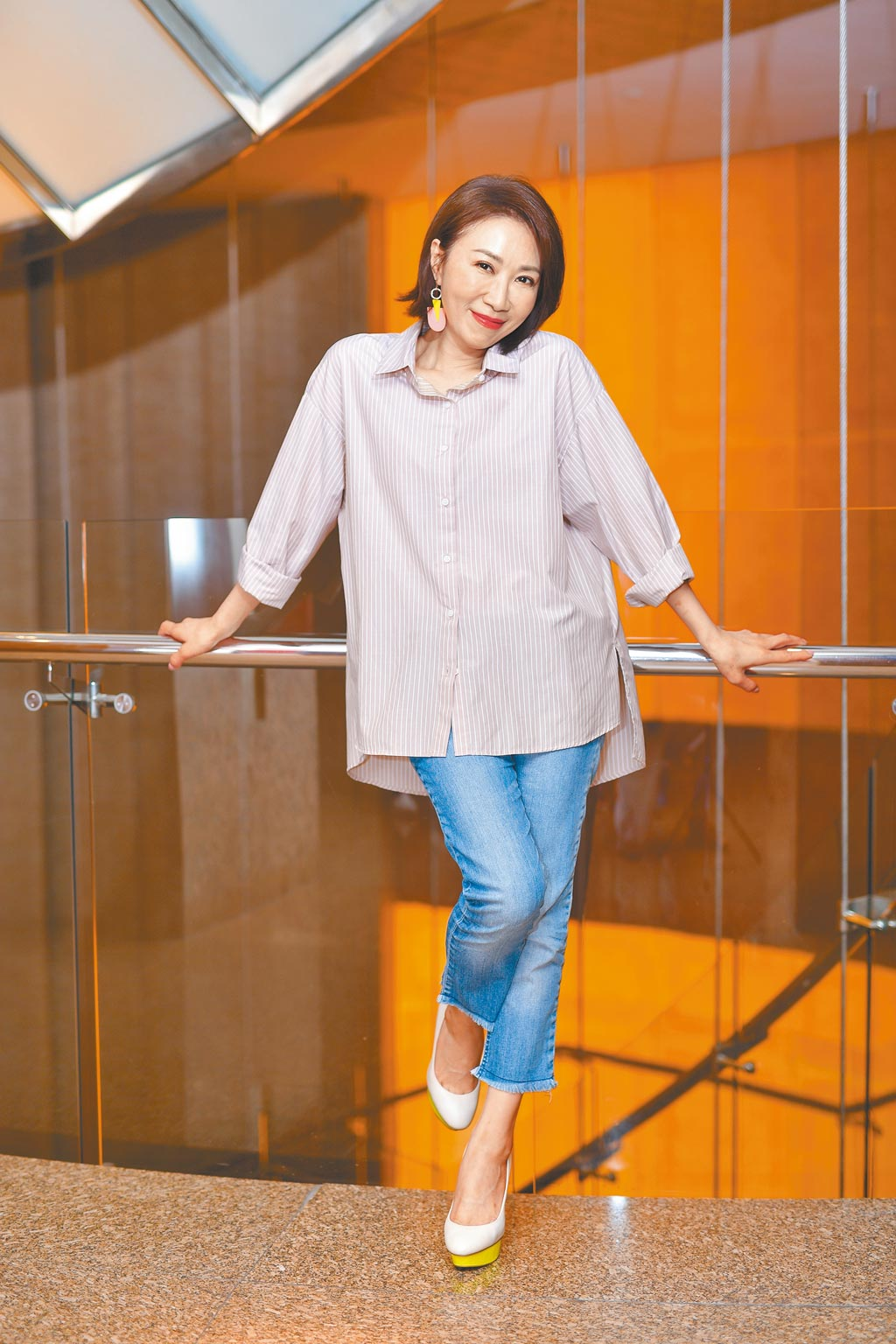 李翊君將於12月5日在台北國際會議中心舉辦演唱會。(盧禕祺攝)