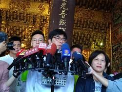 韓國瑜選前之夜為李眉蓁站台  陳其邁諷:「以為今天是6月5日」
