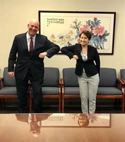 蕭美琴會晤美政軍助卿 商談區域和平穩定