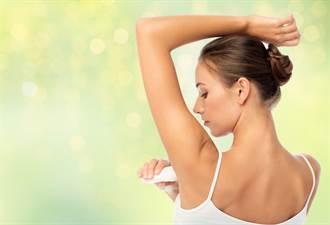 很多人不知道!止汗劑睡前擦才有效  4種情況硬用很傷皮膚