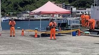基隆嶼岸礁驚見浮屍  疑日前瑞濱波特船翻覆失蹤釣客