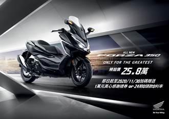 Honda Motorcycle 2021年式 FORZA 350 25.8萬元預接單12月正式上市