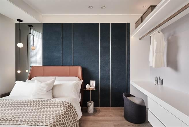 ▲「新潤心城」37坪3房3間臥室都可擺放雙人床,享充足收納規劃。(業者提供)