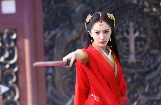 楊冪美貌與實力兼具,在電視劇《扶搖》中也有亮眼表現。(本報系資料照)