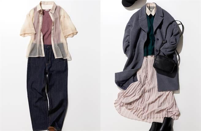 GU推全新「一件多穿」單品 跨季節多樣穿搭實現時尚樂趣(圖/品牌提供)