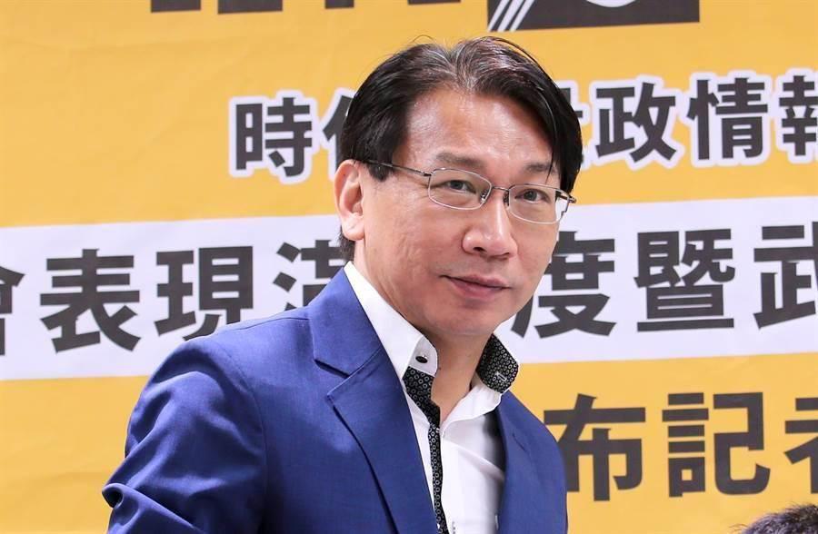 時代力量前黨主席徐永明涉嫌收賄。(資料照/黃世麒攝)