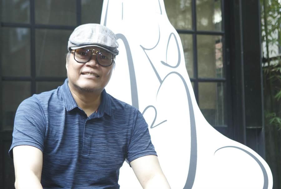 「漫畫才子」蕭言中,獲第11屆金漫獎特別貢獻獎。(本報資料照片)